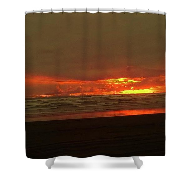 Sunset #5 Shower Curtain