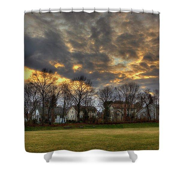 Sunset #9 Shower Curtain