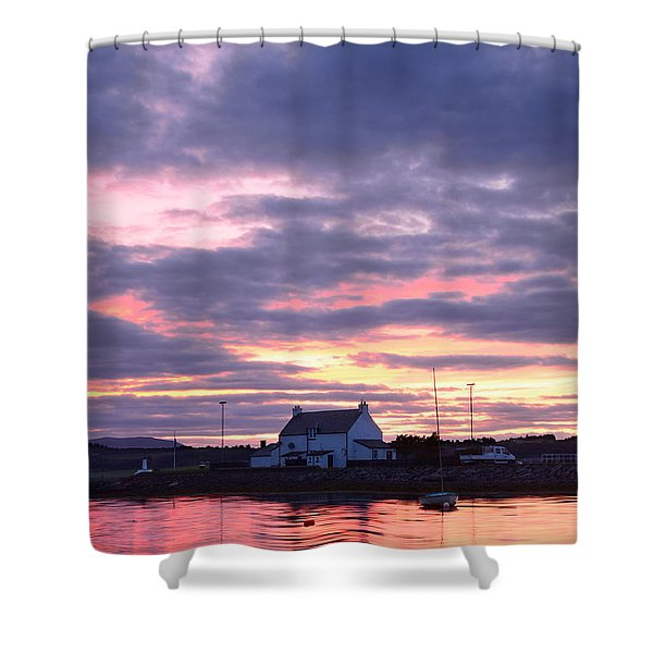 Sunset At Clachnaharry Shower Curtain