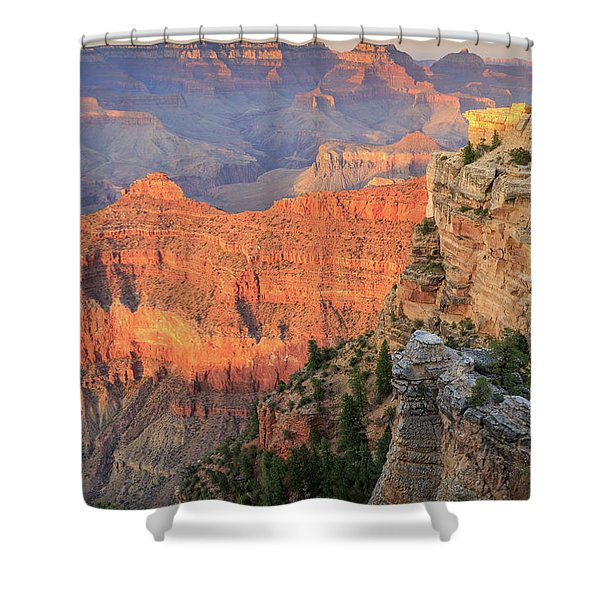 Sunset At Mather Point Shower Curtain