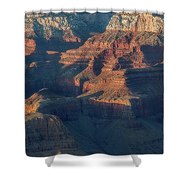 Sunset At The South Rim, Grand Canyon Shower Curtain