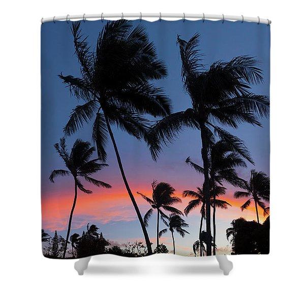 Sunset - Bow Shower Curtain