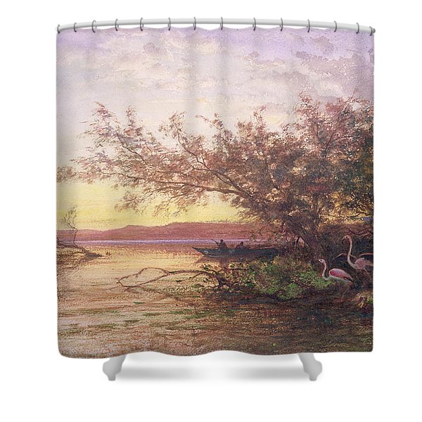 Sunset, Camargue Shower Curtain