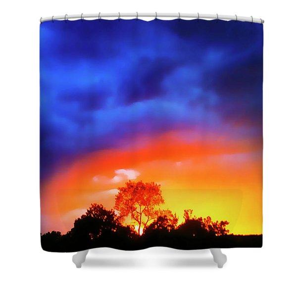 Sunset Extraordinaire Shower Curtain