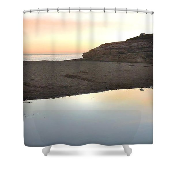 Sunset Family Shower Curtain
