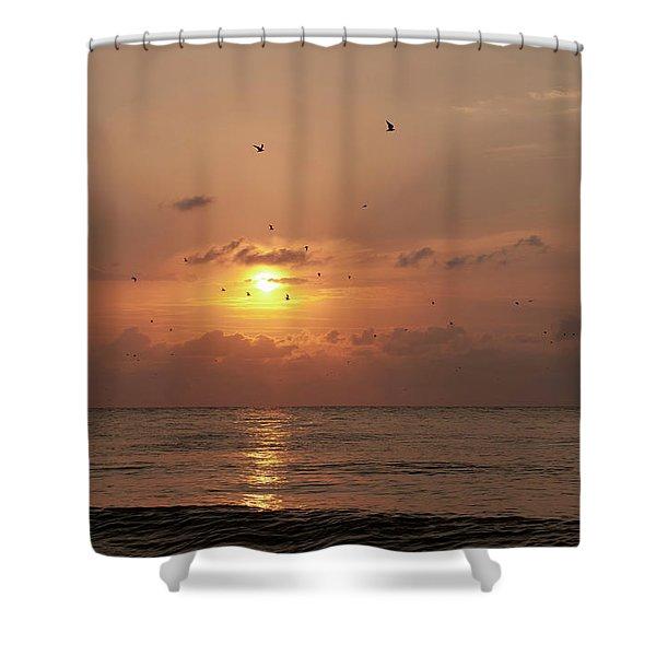 Sunset Florida Shower Curtain