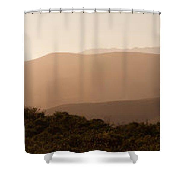 Sunset In California Shower Curtain
