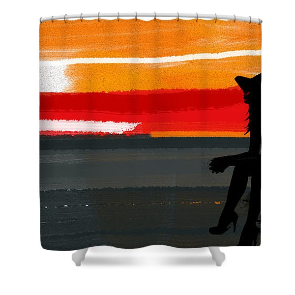 Sunset In Hamptons Shower Curtain