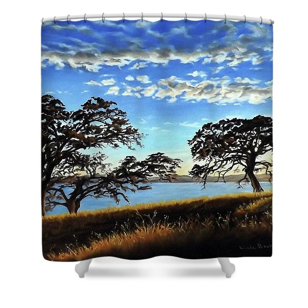 Sunset In Lucerne Shower Curtain