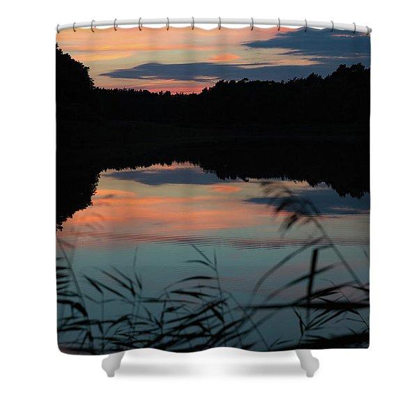 Sunset In September Shower Curtain