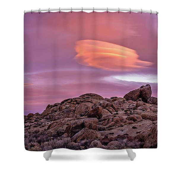 Sunset Lenticular Shower Curtain