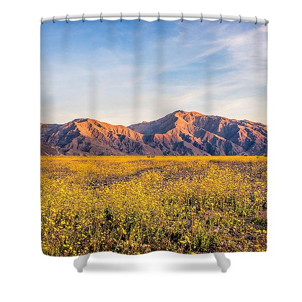 Sunset Mouintain Shower Curtain
