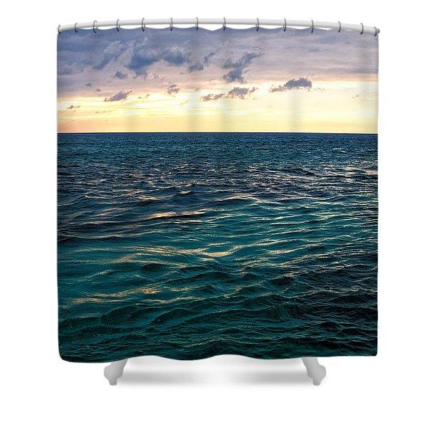 Sunset On The Caribbean Shower Curtain