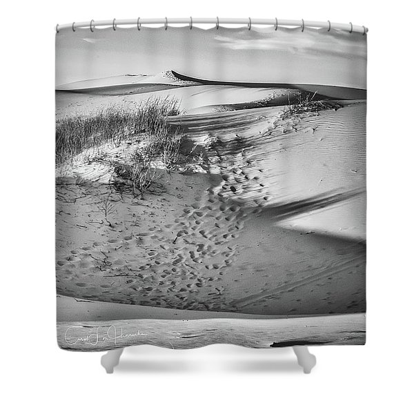 Sunset On The Dunes Shower Curtain