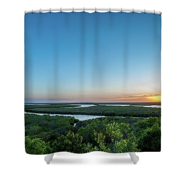 Sunset On The Outer Banks Shower Curtain