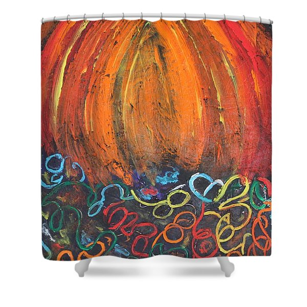 Sunset Over Key West Shower Curtain