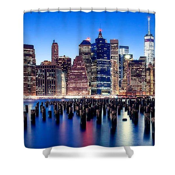 Magic Manhattan Shower Curtain