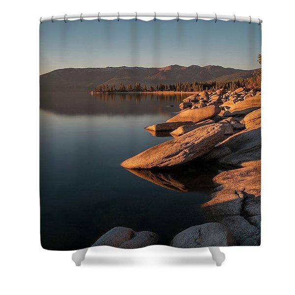 Sunset Peace Shower Curtain