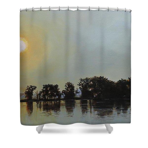 Sunset Ride Shower Curtain
