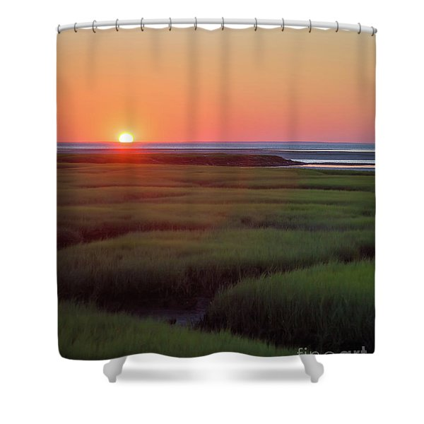 Sunset Romance Shower Curtain