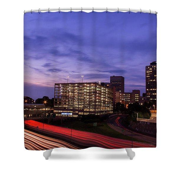Sunset Rush Shower Curtain