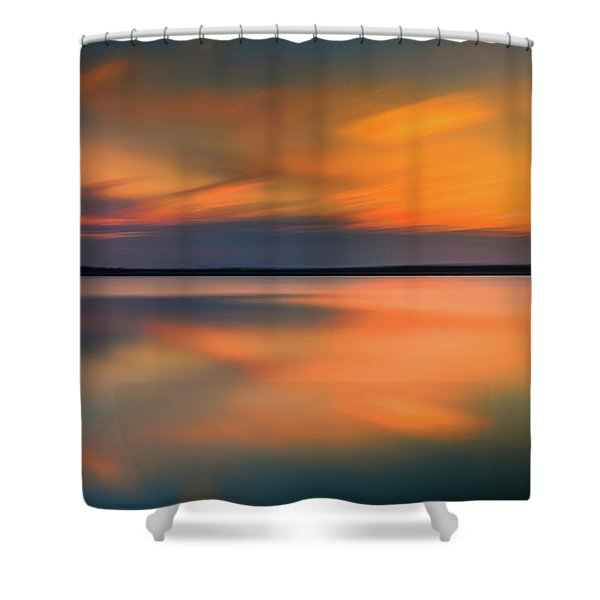Sunset Solace Shower Curtain