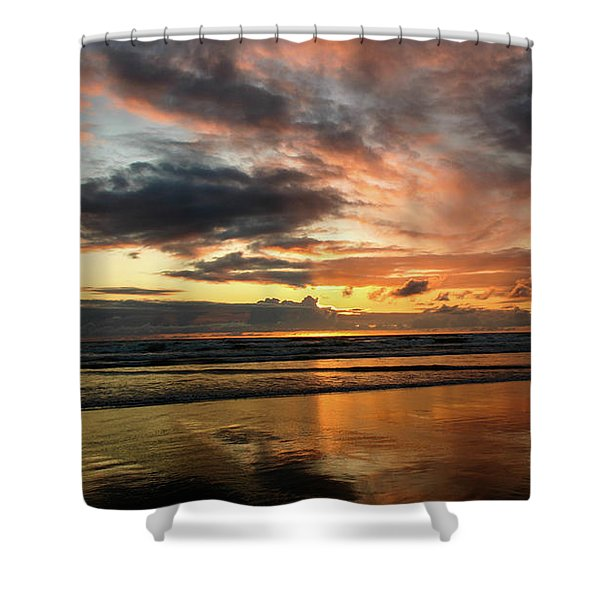 Sunset Split Shower Curtain