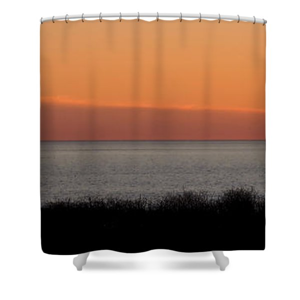 Sunset Stroll Shower Curtain