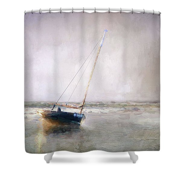 Sunset Tide Shower Curtain
