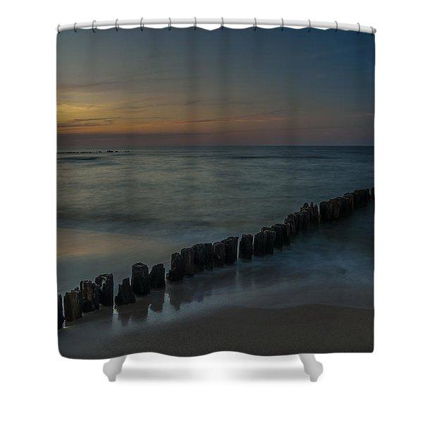 Sunset Zen Mood Seascape Shower Curtain