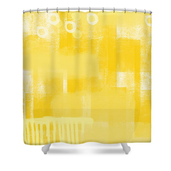 Sunshine- Abstract Art Shower Curtain