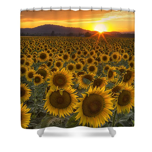 Sunshine And Happiness Shower Curtain