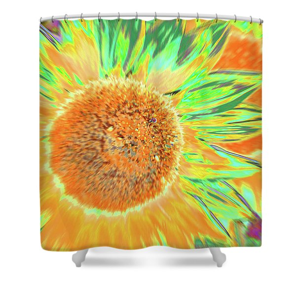 Shower Curtain featuring the photograph Suntango by Cris Fulton