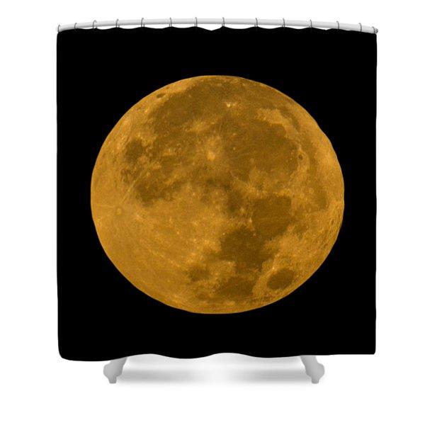 Super Moon Monday Shower Curtain