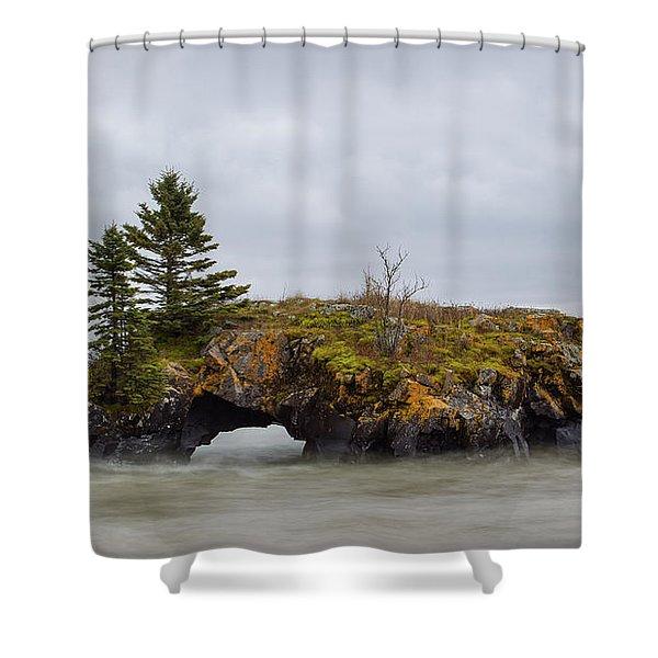 Superior Shores Shower Curtain