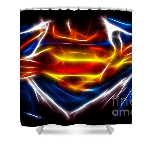 Superman Shower Curtain