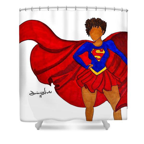 Superwoman I Am  Shower Curtain