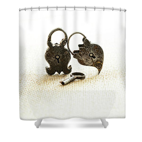 Supported Shower Curtain