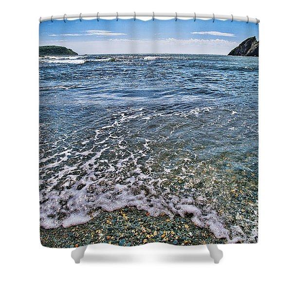 Surf #2959 Shower Curtain