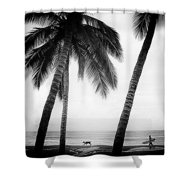Surf Mates Shower Curtain