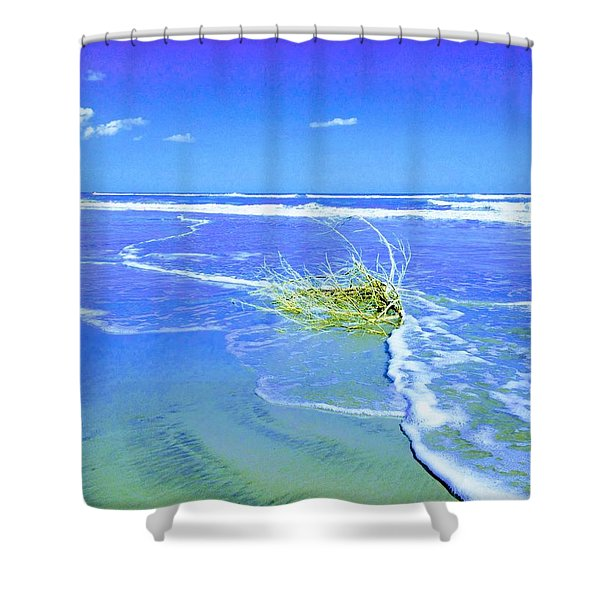 Surf Snuggle Shower Curtain