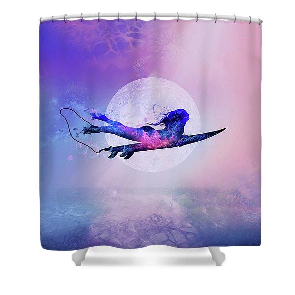 Surfer 5 Shower Curtain