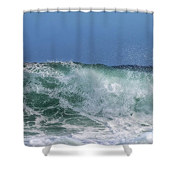 Surfing Out  Shower Curtain
