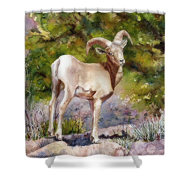 Surprised On The Trail Shower Curtain