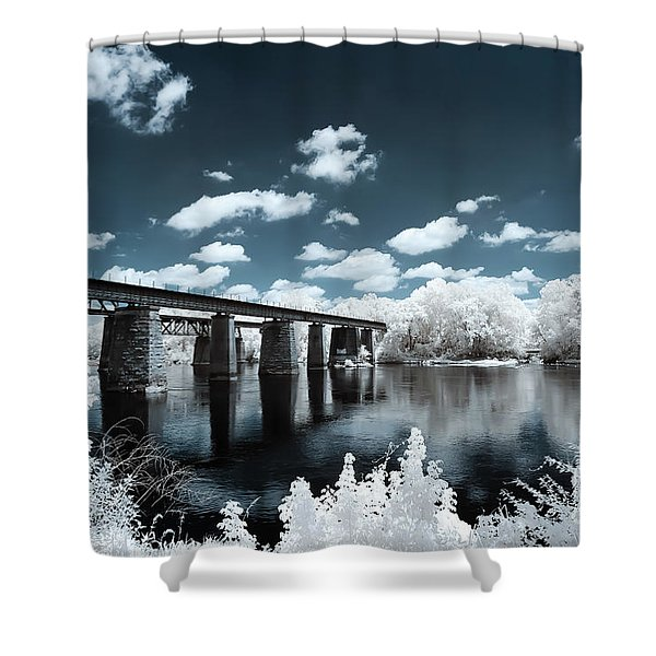 Surreal Crossing Shower Curtain