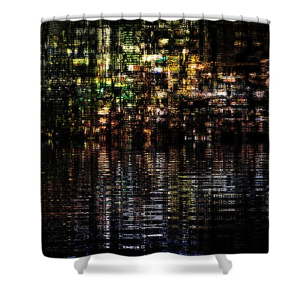 Surreal Evening Shower Curtain