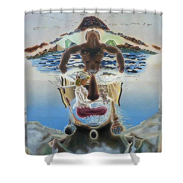 Nostalgic Confections Shower Curtain