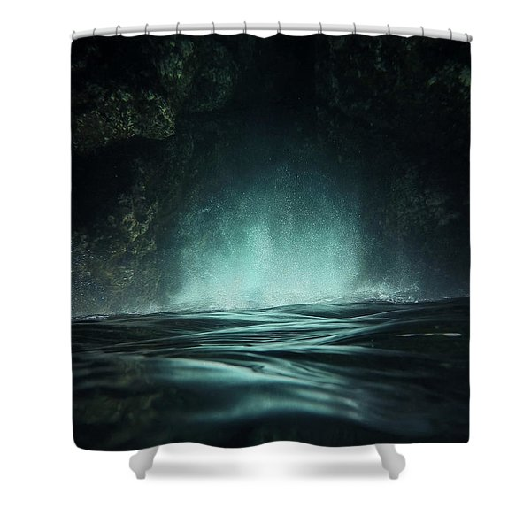 Surreal Sea Shower Curtain