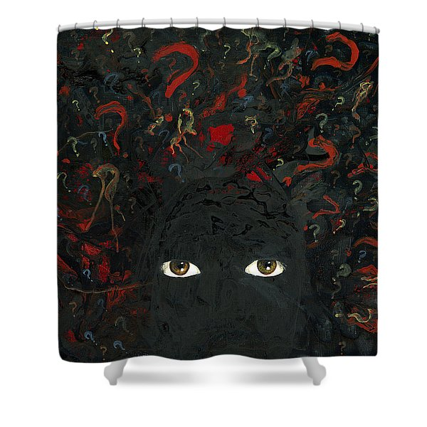 Surrounded By ? Shower Curtain