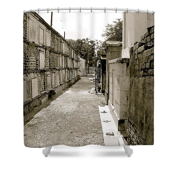 Surrounded By Loss Shower Curtain
